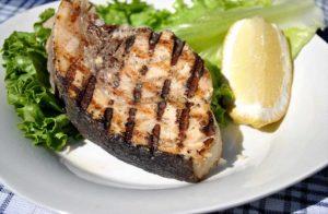 Grill Salmon